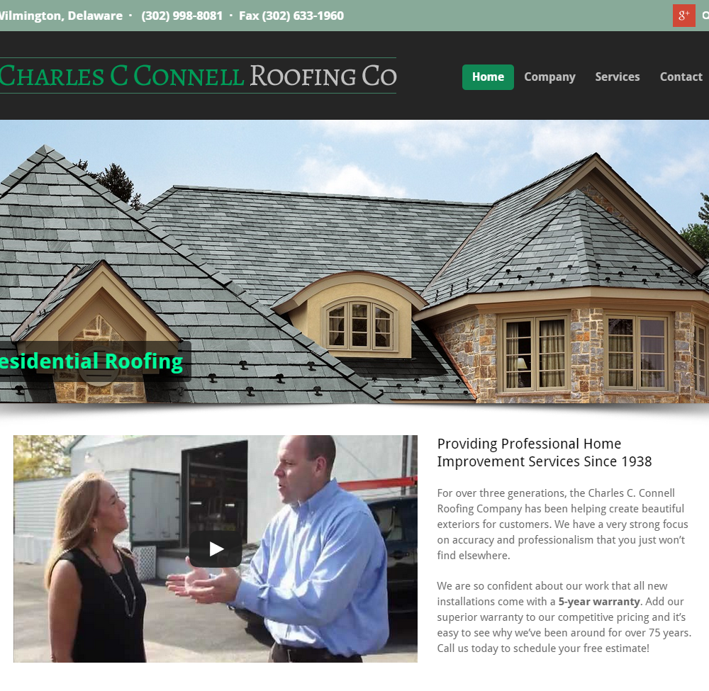 Charles Connell Roofing