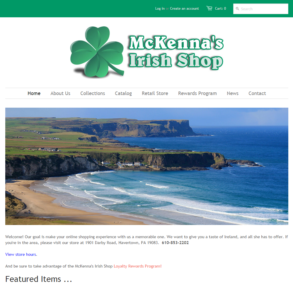 McKenna's Irish Shop